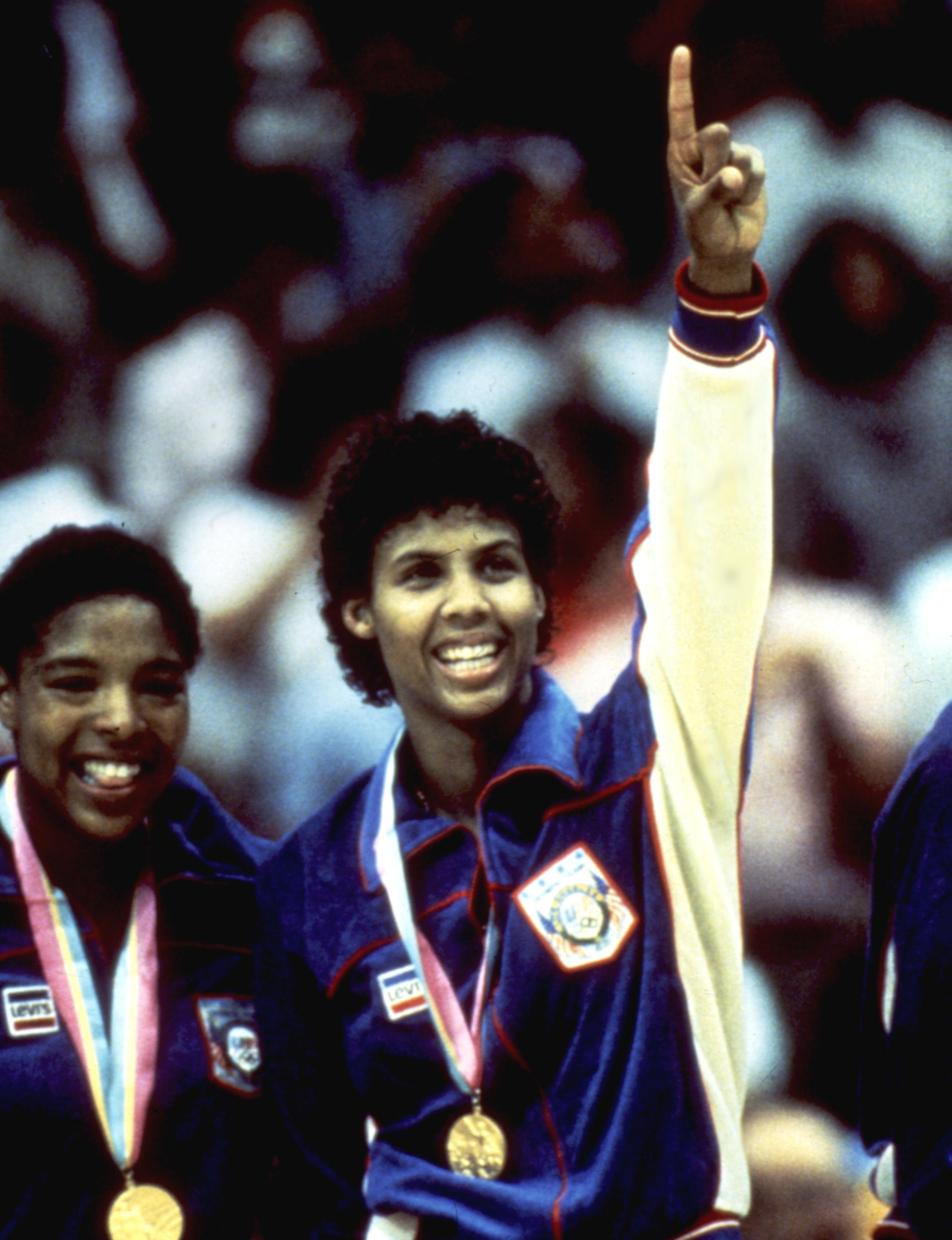 Cheryl Miller, Olympic champion