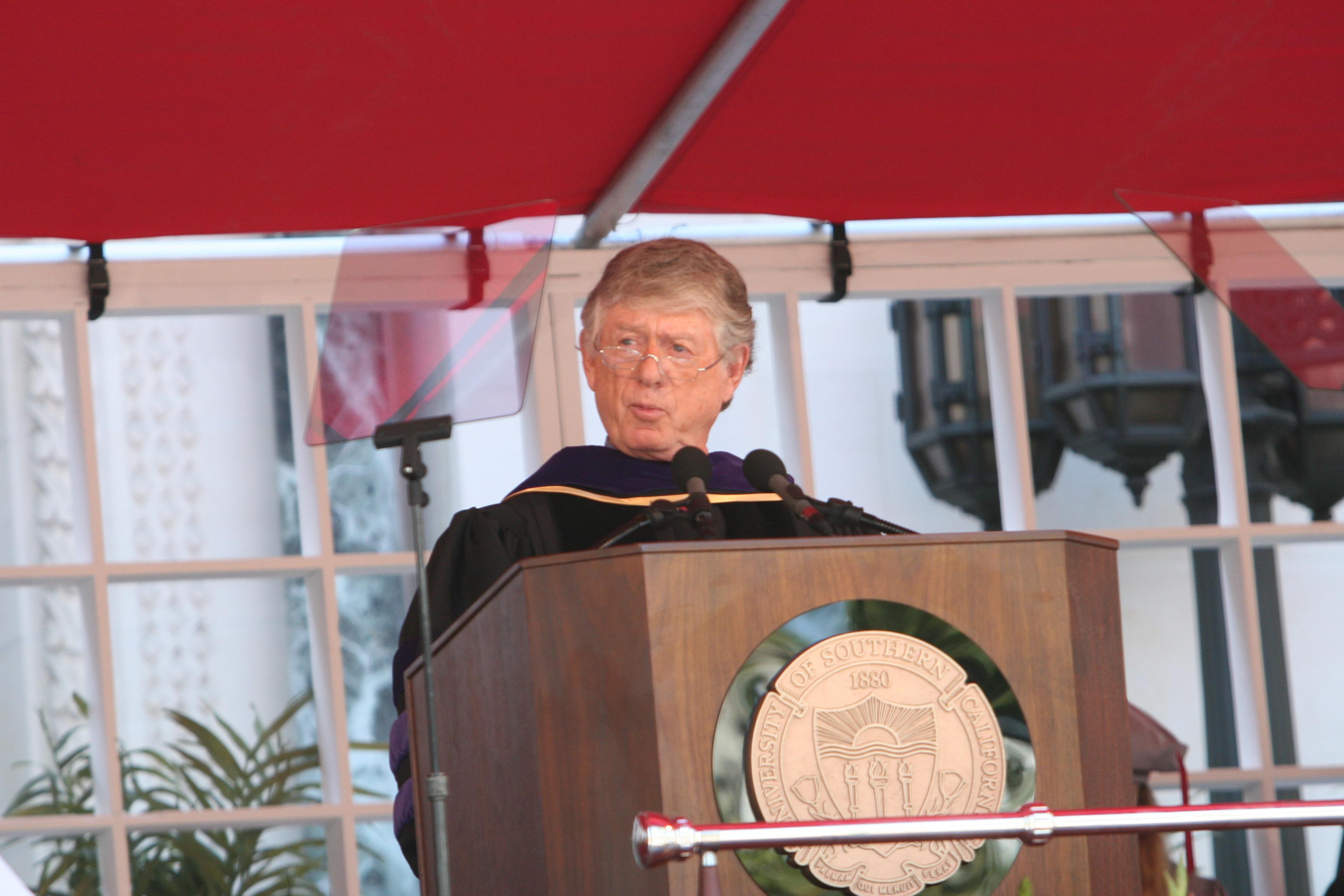 Usc Graduation Speaker 2020.2007 Commencement Address Commencement 2020 Usc