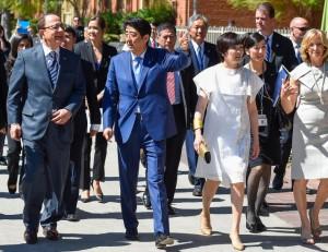 Shinzo Abe visit